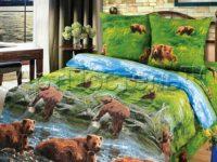 постельное белье артпостель рисунок хозяин тайги
