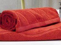 полотенце махровое каригуз классик цвет красный