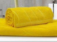 полотенце махровое каригуз классик цвет желтый
