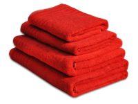 полотенце махровое даргез эдельвейс цвет красный