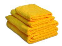 полотенце махровое даргез эдельвейс цвет желтый