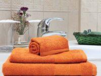 полотенце махровое каригуз элеганс цвет терракот
