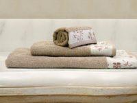 полотенце махровое каригуз каприз цвет кофейный